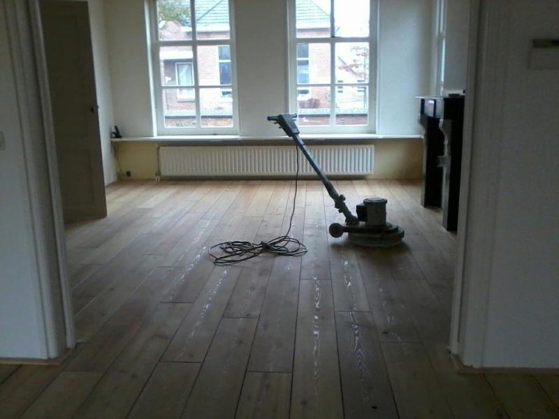 Onderhoud t houtenvloertje