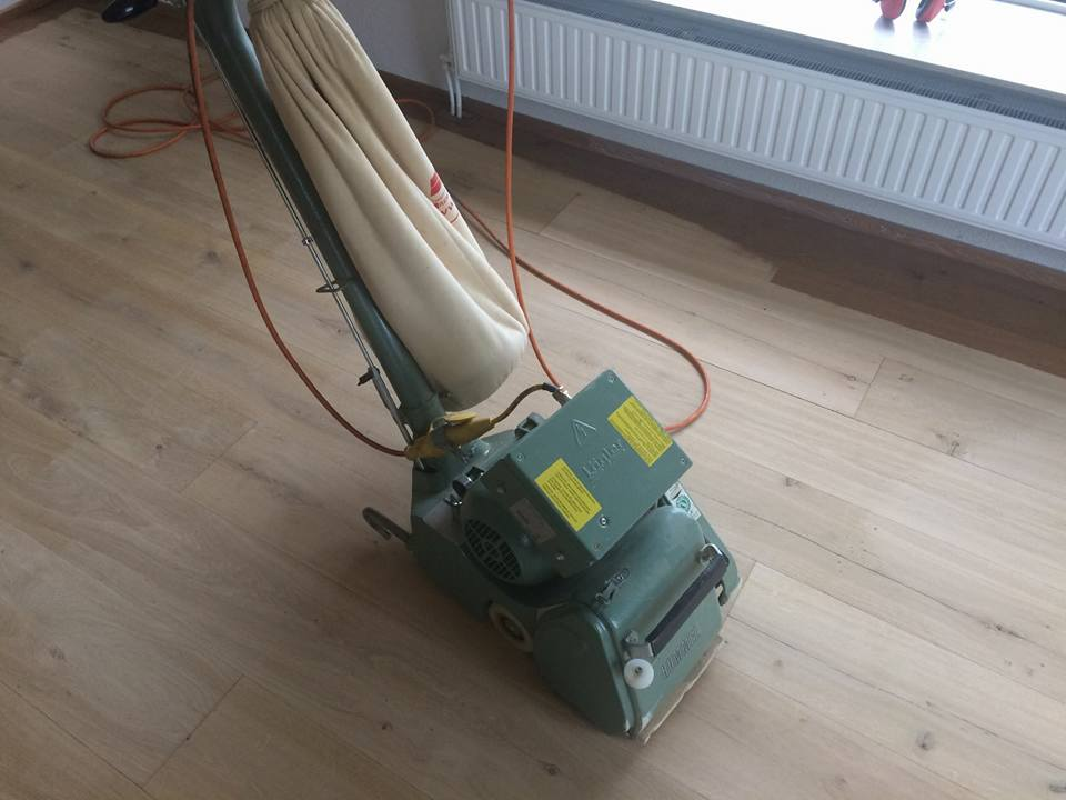 Renovatie t houtenvloertje